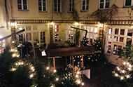 ALvis Hofgarten for your Cristmas Party in Berlin Mitte