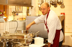 Andreas Vogel Sous Chef ALvis Restaurant in Berlin Mitte
