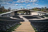 Die Arena der IGA für Veranstaltungen.