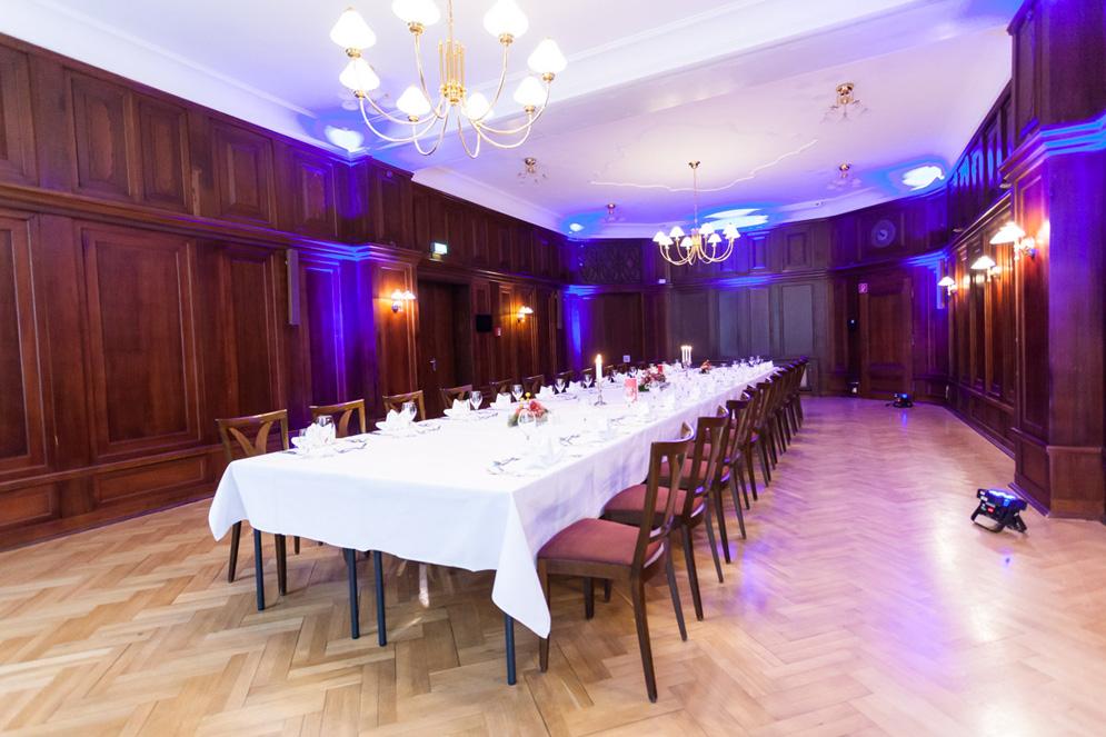 Bankettsaal im Hotel Albrechtshof