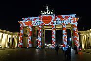 Brandenburger Tor Festival of Lights in Berlin