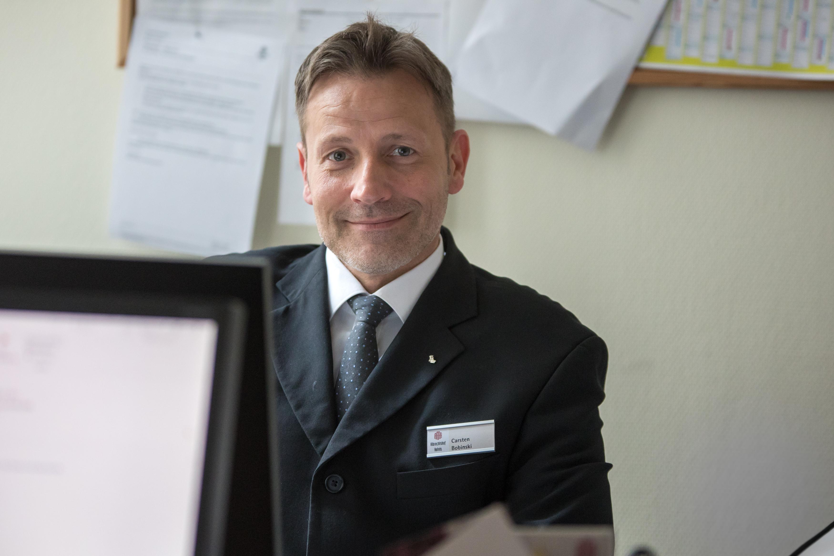 Carsten Bobinski, Bankett- und Catering Sales Manager, Albrechtshof Hotels