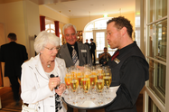 Champagne reception at Hotel Albrechtshof in Berlin-Mitte