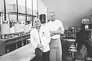Chef de cuisine Wolfgang Kanow and sous-chef Andreas Vogel