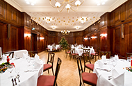 Christmas party Hotel Albrechtshof banquet hall