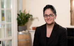 Dana Schmiedel, Direktorin und Geschäftsführerin Albrechtshof Hotels