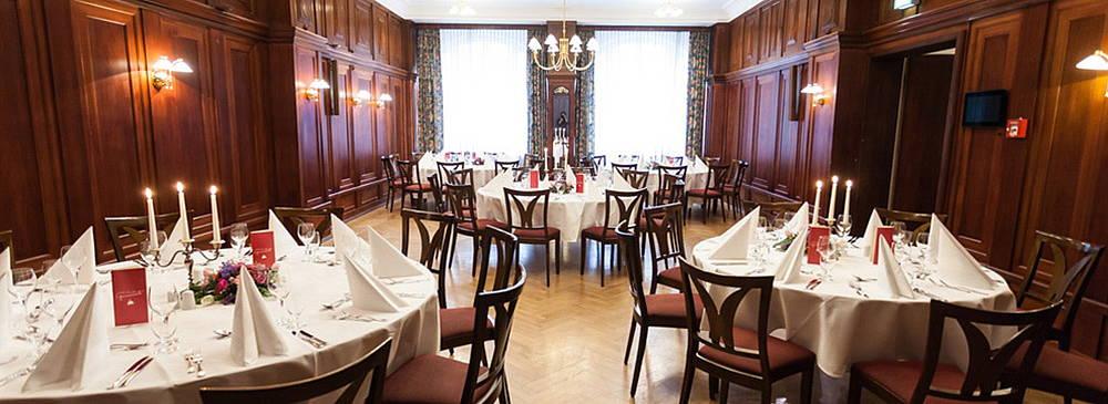 Hotel Albrechtshof - Bankettsaal Bankettbestuhlung