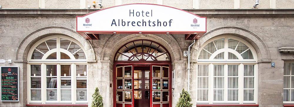 Hotel Albrechtshof in Berlin Mitte