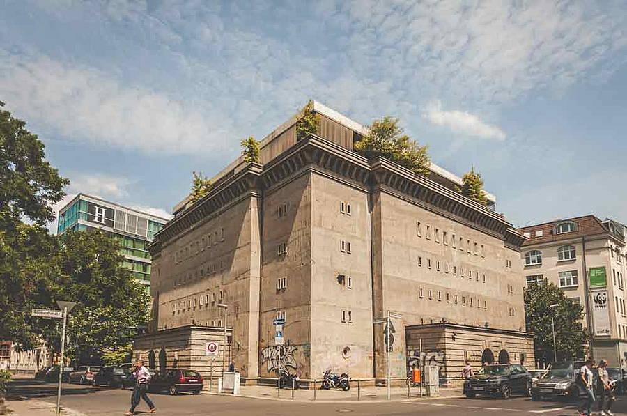 Hotel Alrebechtshof Berlin Sammlung Boros