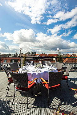 Rooftop of Hotel Allegra