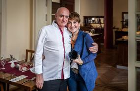 Küchenchef Wolfgang Kanow und Marketingleiterin Stephanie Wegener