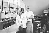 Küchenchef Wolfgang Kanow und Sou Chef Andreas Vogel