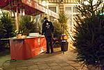 Marktstand kleinsten Winterwald Berlins