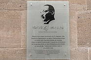 Martin Luther King commemorative plaque