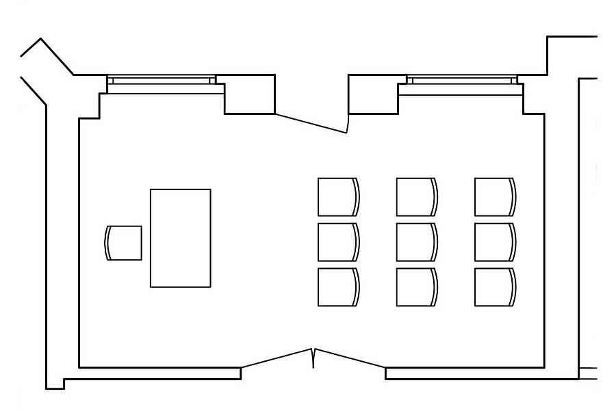 Meetingraum und Bestuhlung