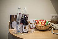 Minibar of the Hotel Albrechtshof in Berlin Mitte