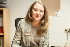 Mitarbeiterin der Albrechtshof Hotels