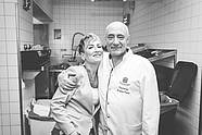 Stephanie Wegener (Head of Marketing) & Chef de cuisine Wolfgang Kanow