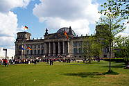 "The ""Reichstag"" in the government district"