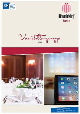Veranstaltungsmappe für Tagungen und Feiern im Hotel Albrechtshof