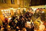 Weihnachtsfeier mit Empfang im winterlichen Hofgarten