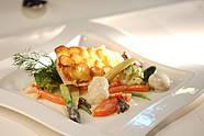 Zanderfilet Kartoffelkruste by Restaurant Alvis
