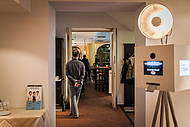 Zusätzlicher Raum für Buffets oder eine Photobooth